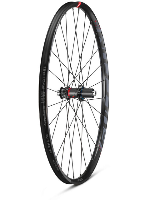 "Fulcrum Red Zone 5 Laufradsatz MTB 29"" TL Ready Shimano CL schwarz/rot"